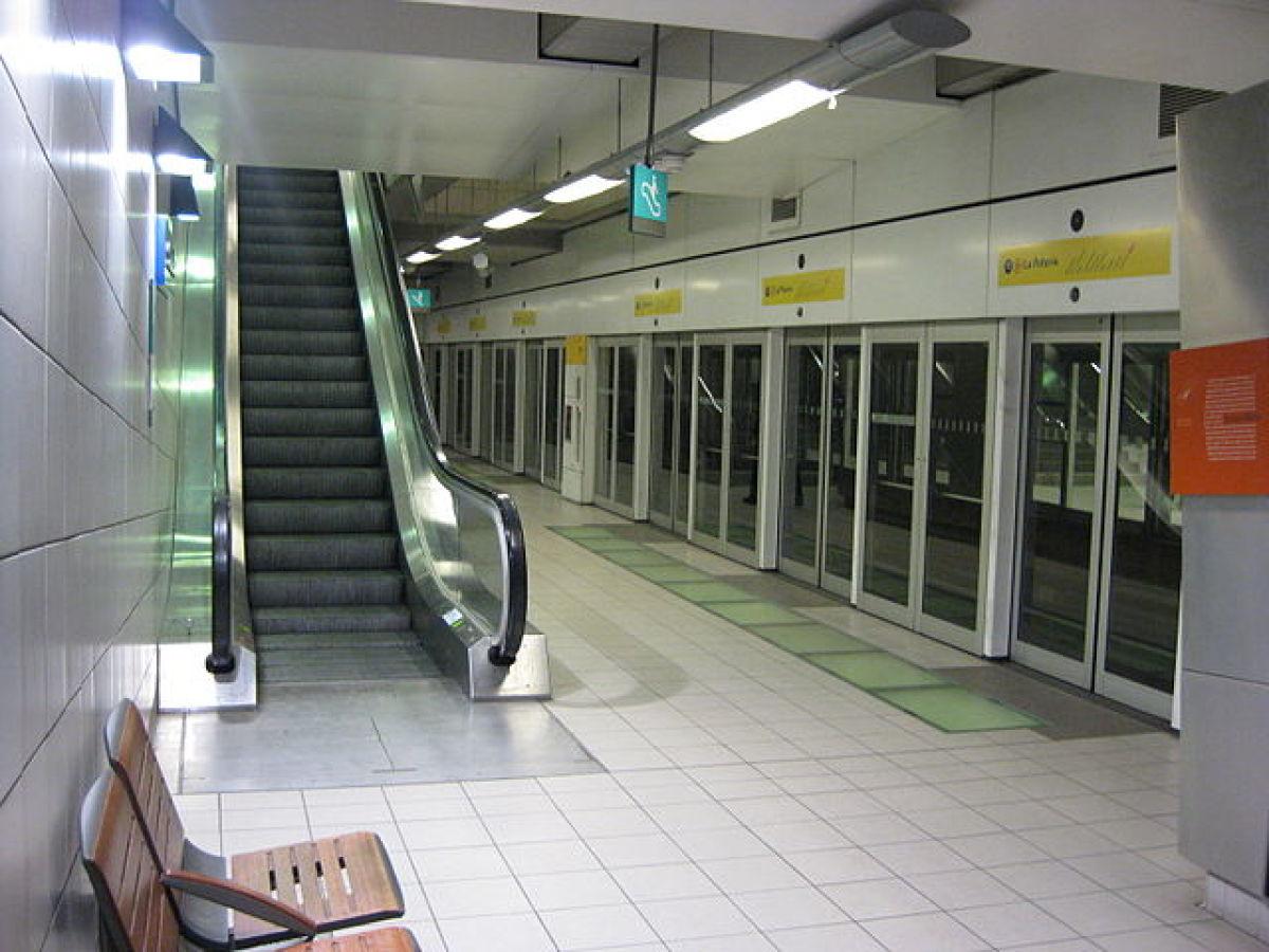 Transports en commun à Rennes - Station de métro Charles de Gaulle