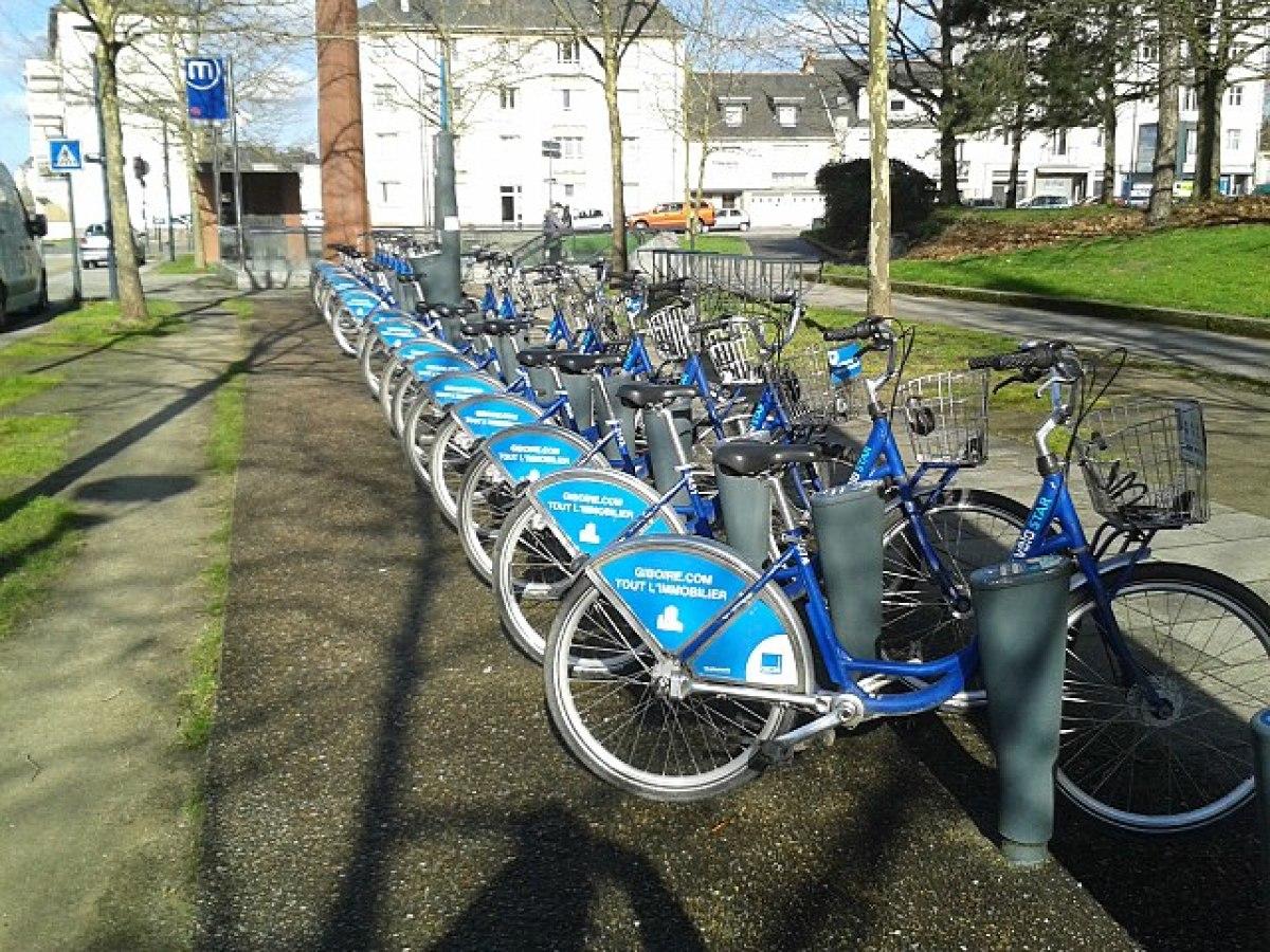 Transports en commun à Rennes - Station Vélo Star Henry Fréville à Rennes
