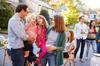 projets urbains à Rennes - parents et enfants à une fête de voisinage