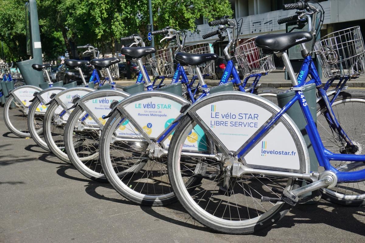 Logements bas carbone à Rennes – Les vélos STAR à Rennes