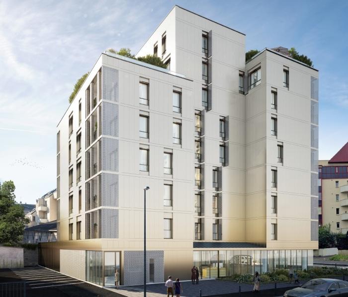 Appartements neufs Bourg-l'Évesque - la Touche - Moulin du Comte référence 5752 : aperçu n°0