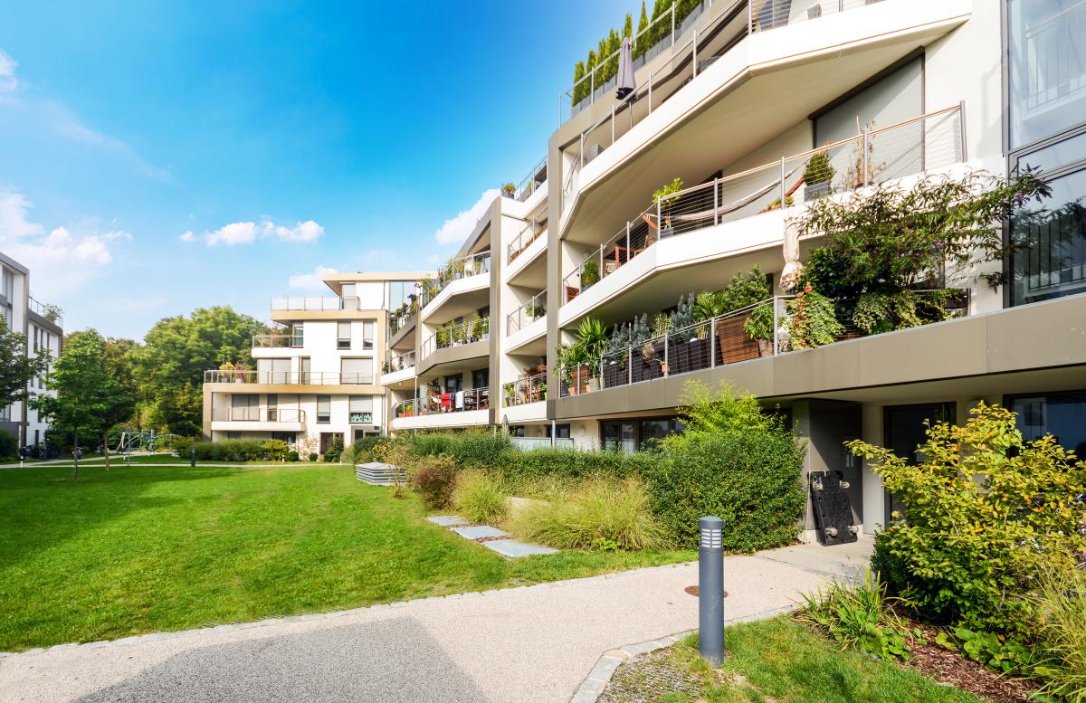 Immobilier neuf Rennes - Une résidence neuve et écologique avec de la verdure
