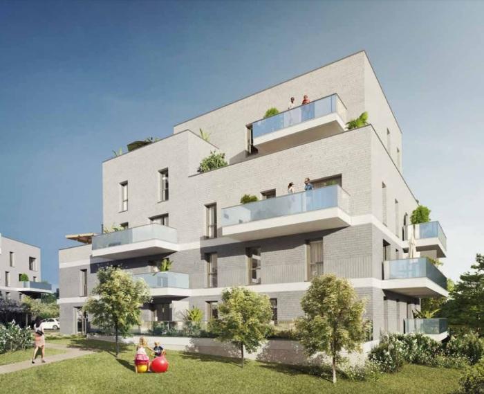 Appartements neufs Vezin-le-Coquet référence 5844 : aperçu n°2