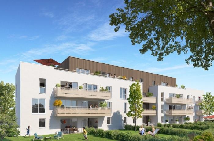 Appartements neufs Pont-Péan référence 5852 : aperçu n°0