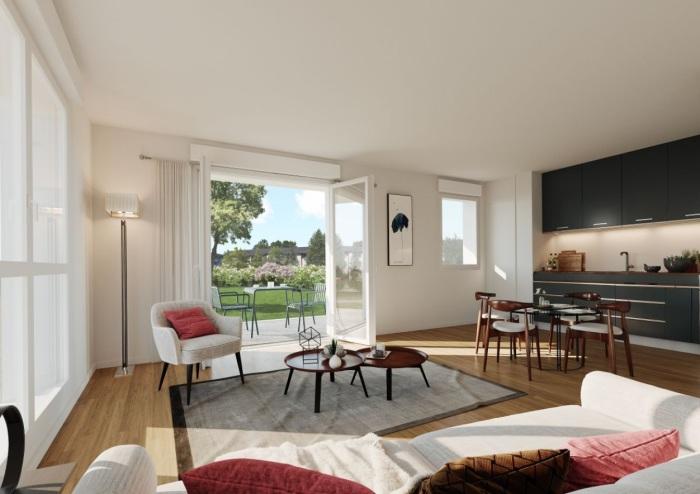 Appartements neufs Pont-Péan référence 5852 : aperçu n°1