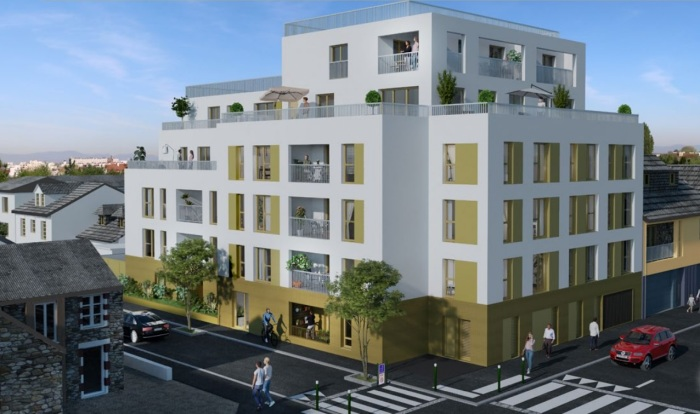 Appartements neufs Nord Saint-Martin référence 5851 : aperçu n°2