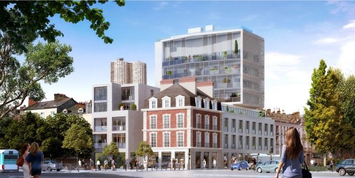 Appartements neufs Bourg-l'Évesque - la Touche - Moulin du Comte référence 5868 : aperçu n°0