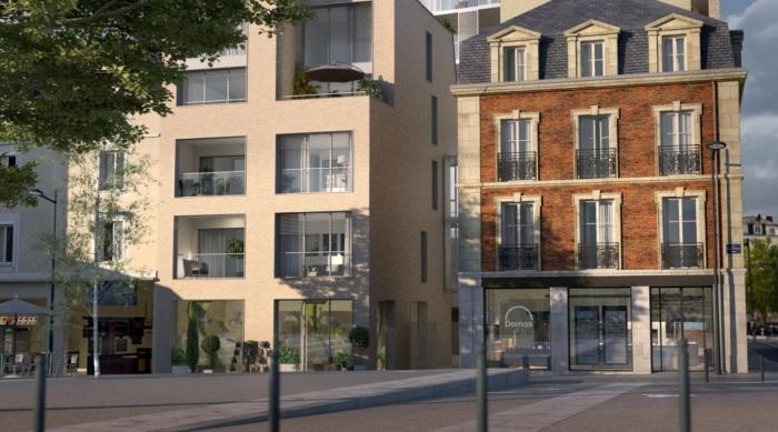 Appartements neufs Bourg-l'Évesque - la Touche - Moulin du Comte référence 5868 : aperçu n°2