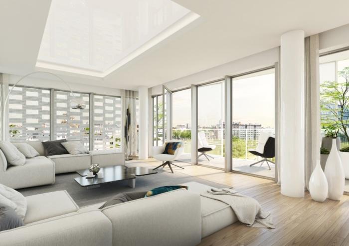Appartements neufs Bourg-l'Évesque - la Touche - Moulin du Comte référence 5868 : aperçu n°1