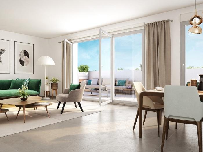 Appartements neufs Saint-Gilles référence 5867 : aperçu n°1