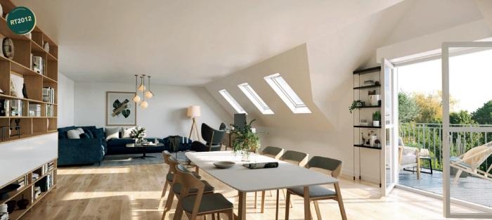 Appartements neufs Vitré référence 5811 : aperçu n°1