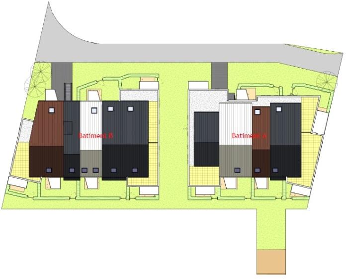 Appartements neufs Fougères référence 5869 : aperçu n°2