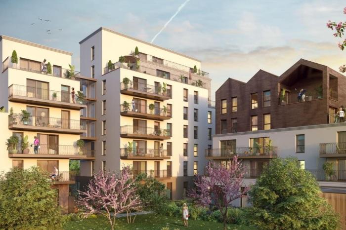 Appartements neufs Francisco-Ferrer - Vern - Landry - Poterie référence 5873 : aperçu n°0