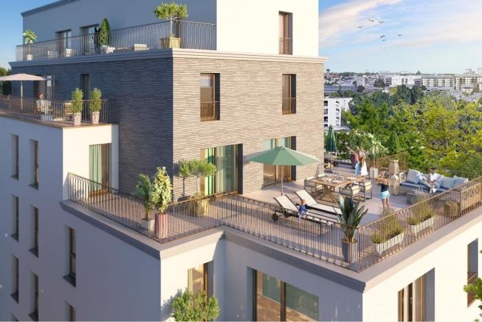 Appartements neufs Francisco-Ferrer - Vern - Landry - Poterie référence 5873 : aperçu n°2