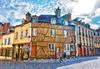 tendance immobilier rennes - façades à l'architecture typique de Rennes