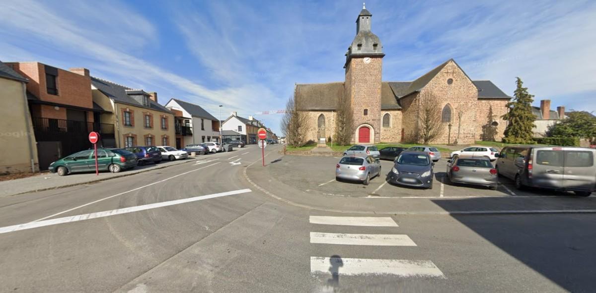 Saint-Gilles - Vue de l'Eglise