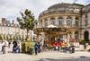 pinel rennes - La place de la Mairie à Rennes et son manège