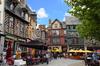 Îlots de fraicheur à Rennes – La place Sainte-Anne et ses terrasses
