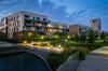Neuf ou ancien à Rennes – Visuel 3D d'une résidence neuve au milieu d'un parc arboré