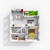 logement évolutif – plan d'un projet d'appartement aux cloisons modulables