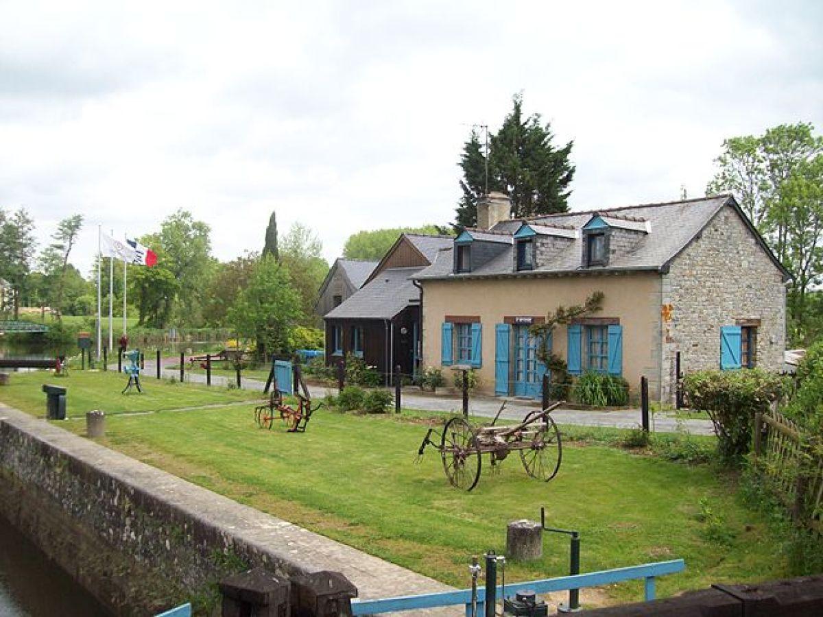 où vivre à Rennes en famille –photo de l'écluse de Saint-Grégoire