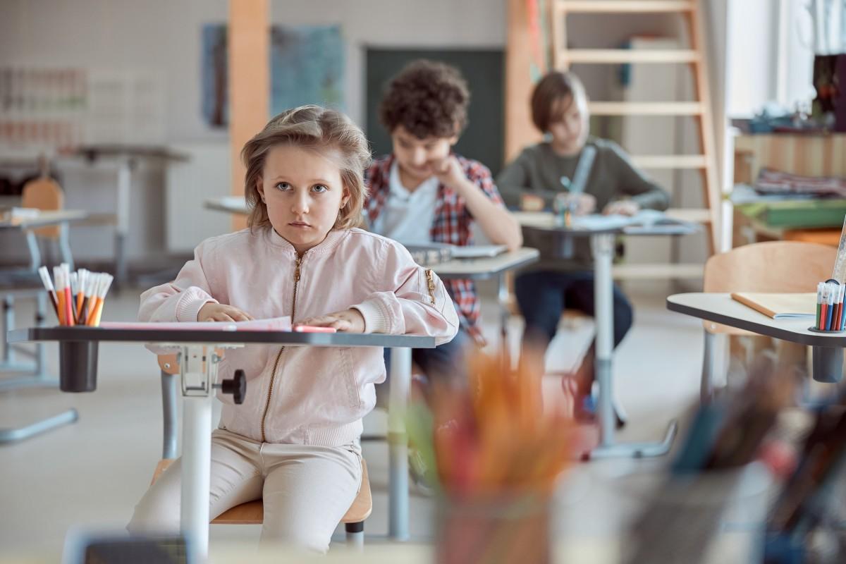 Les meilleures écoles à Rennes - enfants en salle de classe
